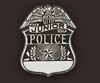 blank jr police shield