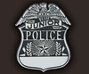 preprinted plastic police badges